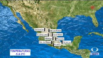 Masa Aire Frío Cubre Territorio Mexicano