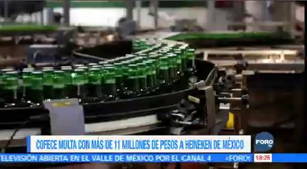 Multan Cervecería Cuauhtémoc-Moctezuma Comisión Federal De Competencia Económica
