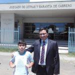 Niño pide 3 días de libertad para su papá