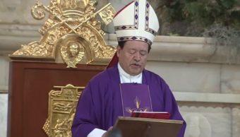 Norberto Rivera llama a católicos a vivir la Navidad con alegría