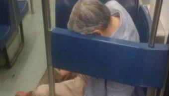 Metro, CDMX, Pantitlán, Transporte, Cadáver, Muerto