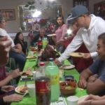 El recalentado, la tradicional reunión después de la cena de Navidad
