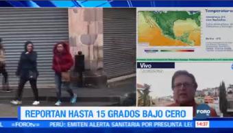 Reportan Un Muerto Intenso Frío Zacatecas