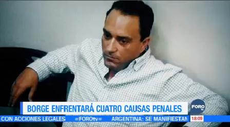 Roberto Borge Enfrentará Cuatro Causas Penales