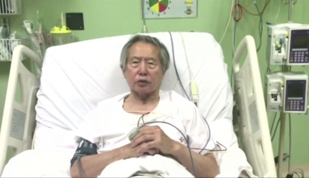 Expresidente Fujimori continuará hospitalizado problemas gástricos
