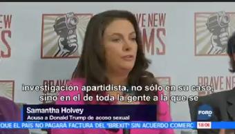 Tres Mujeres Denuncian Acoso Sexual Trump Presidente Donald Trump
