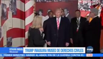 Trump, Inaugura, Museo, Derechos, Civiles, Estados Unidos