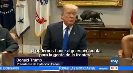 Trump Insiste Solución Dreamers Acompañada Muro