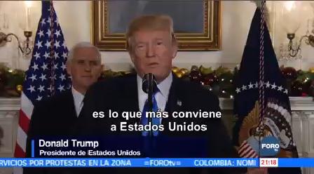 Trump Reconoce Jerusalén Capital Israel Donald Medio Oriente