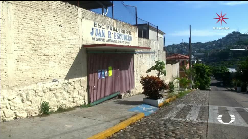 Vacaciones forzadas en Guerrero por amenazas de criminales