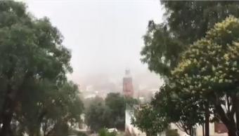 Zacatecas Registra Temperaturas Bajas Historia