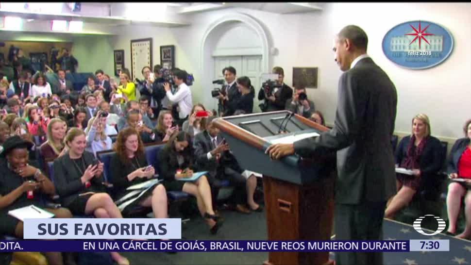 Barack Obama disfruta de canciones latinas