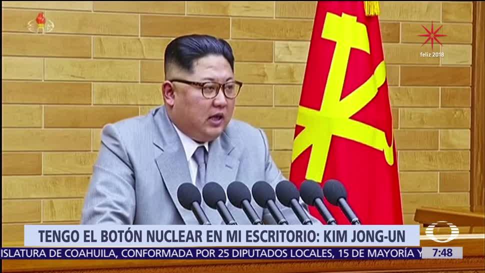 Kim Jong Un lanza advertencias a Estados Unidos