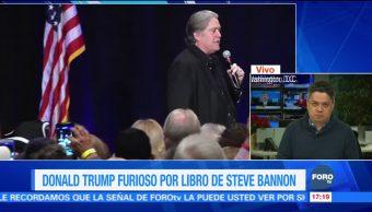 """Las razones por las que Donald Trump se """"divorcia"""" de Steve Bannon"""