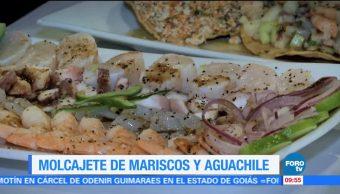Pruebe un molcajete de mariscos esPruebe un molcajete de mariscos estilo Sinaloa en la CDMXtilo Sinaloa en la CDMX