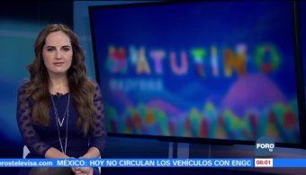 Matutino Express del 5 de enero con Esteban Arce (Bloque 1)