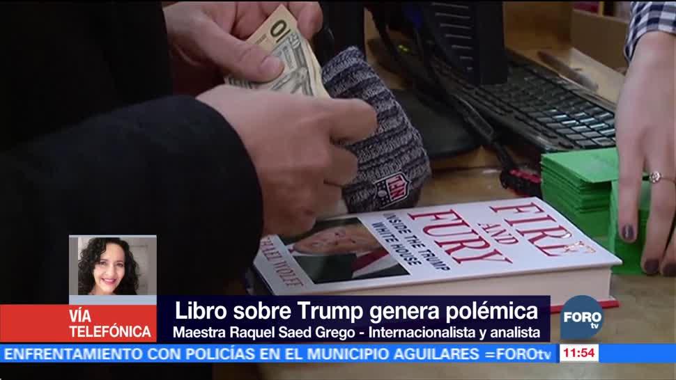 Internacionalista: Libro sobre Trump refleja lo que sucede en la Casa Blanca