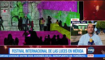Festival Internacional de Luces en Yucatán