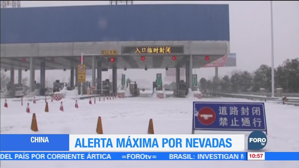 Nevadas y mal clima causan estragos en el mundo