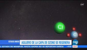 La capa de Ozono de la Tierra se está regenerando, informa la NASA