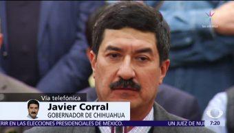 Javier Corral denuncia en Despierta las represalias contra su gobierno
