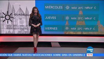 Clima Mayte Carranco Esperan Fuertes Rachas Vientos