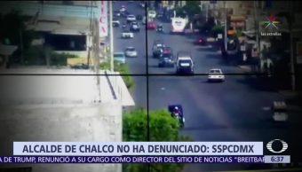 SSPCDMX responde al alcalde de Valle de Chalco por denuncias de abuso