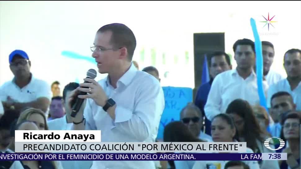Ricardo Anaya responde a agresión en Villahermosa, Tabasco