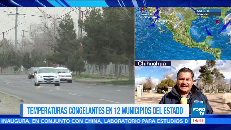 Temperaturas congelantes afectan a 12 municipios de chihuahua
