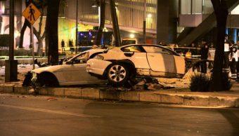 Se cumple un año del accidente del BMW en Paseo de la Reforma