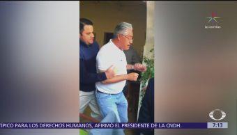Alejandro Vera afirma que Graco Ramírez lo quiere sacar de la escena política