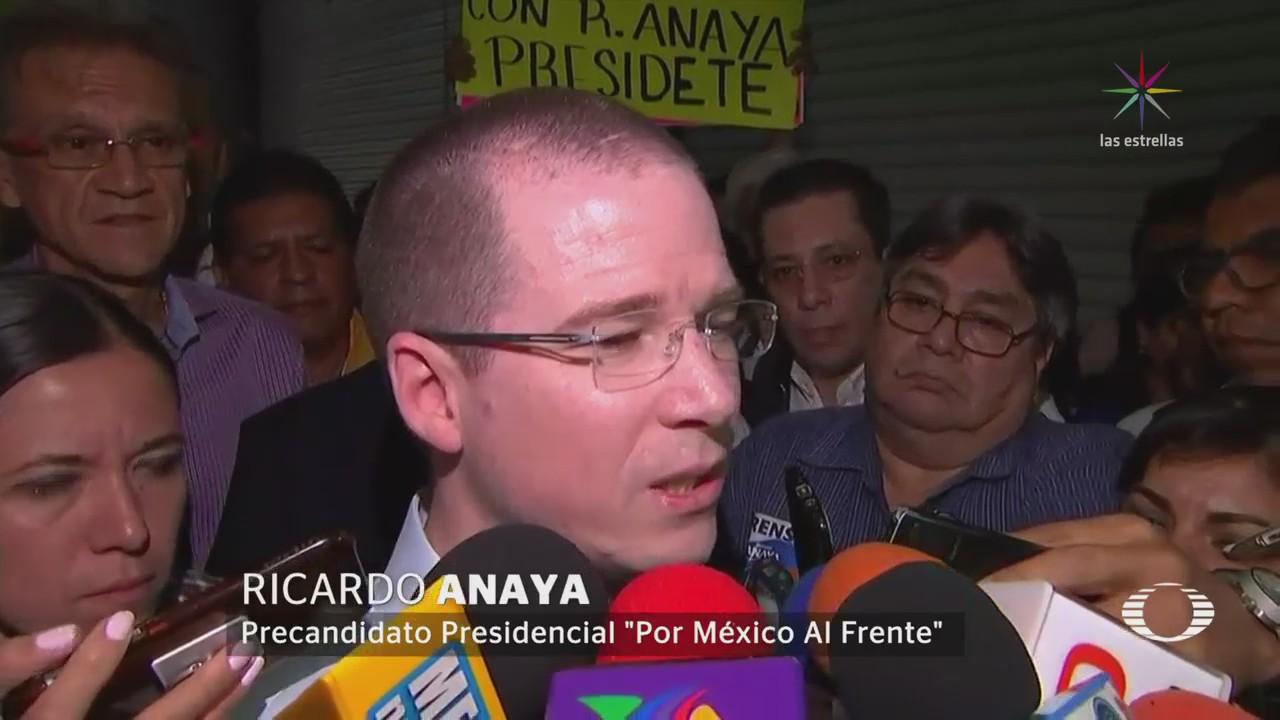 Anaya Asegura Contienda Rumbo Presidencia Reduce Dos