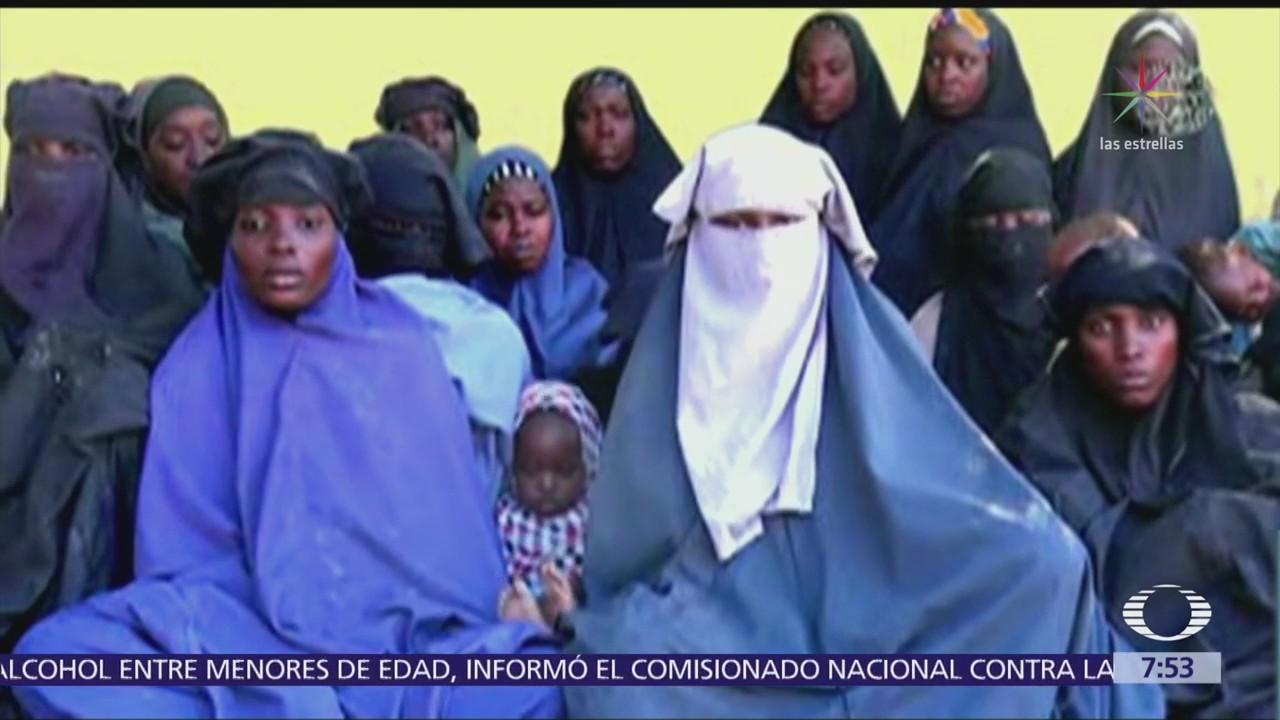 Boko Haram muestra video de niñas secuestradas