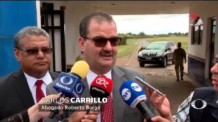 Borge Reserva Derecho Declarar Extraditado México