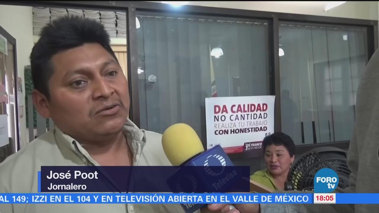 Campesinos Campeche Trabajarán Canadá Finalidad Apoyar Economía Familiar