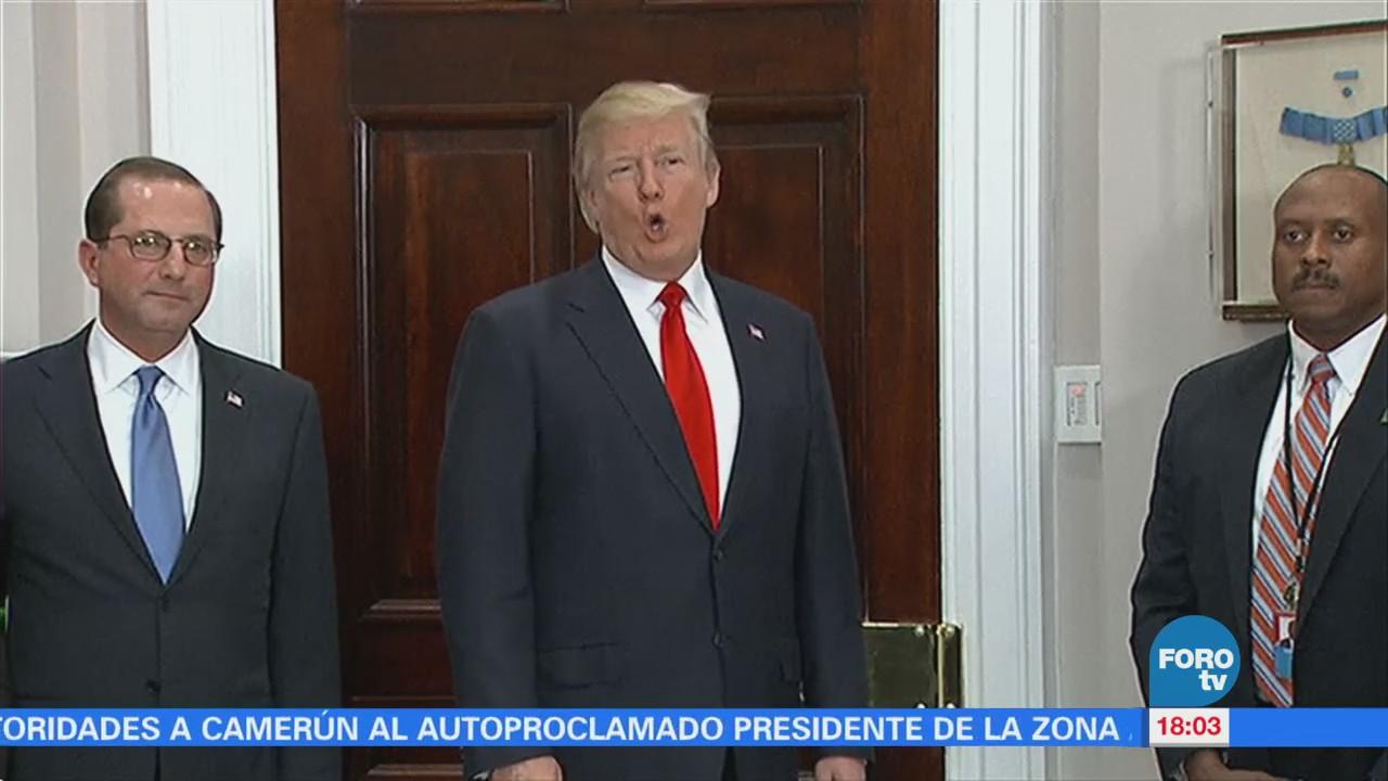Trump Pronunciará Primer Discurso Estado Unión