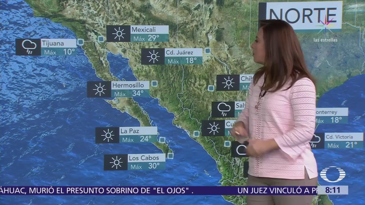 Clima Al Aire: Pronostican chubascos por la tarde en la CDMX