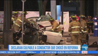 Conductor Bmw Reforma Culpable Homicidio Culposo
