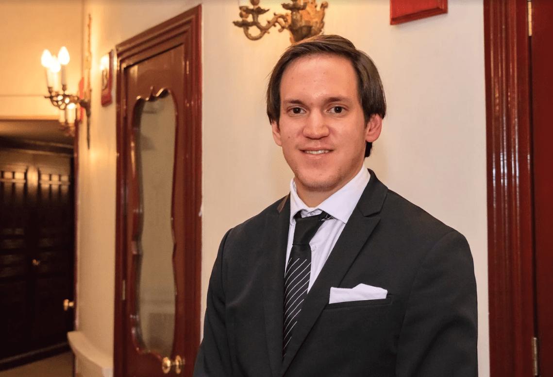 David Alatorre, de la Asociación Mexicana de Debate