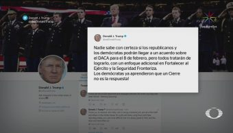 Demócratas Retiran Oferta Financiar Muro México
