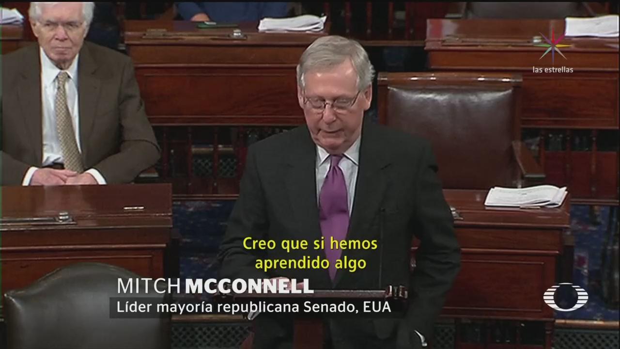 Demócratas Republicanos Logran Acuerdo Presupuestal Temporal