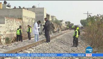 Descarrila tren en Ecatepec, Estado de México