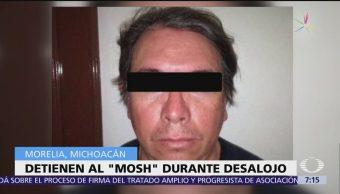 Detienen a 'El Mosh', líder de la huelga que paralizó la UNAM en 1999