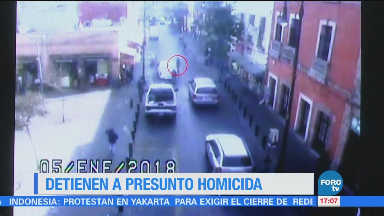 Detienen Presunto Homicida Cdmx
