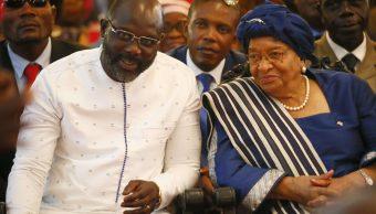 El exfutbolista George Weah es investido como presidente de Liberia
