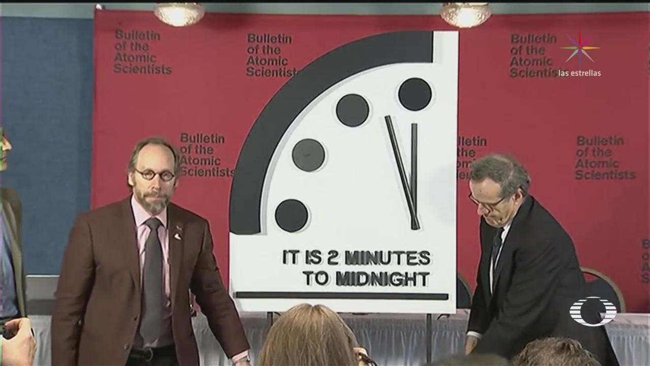 Reloj Apocalipsis Investigadores De La Universidad De Chicago