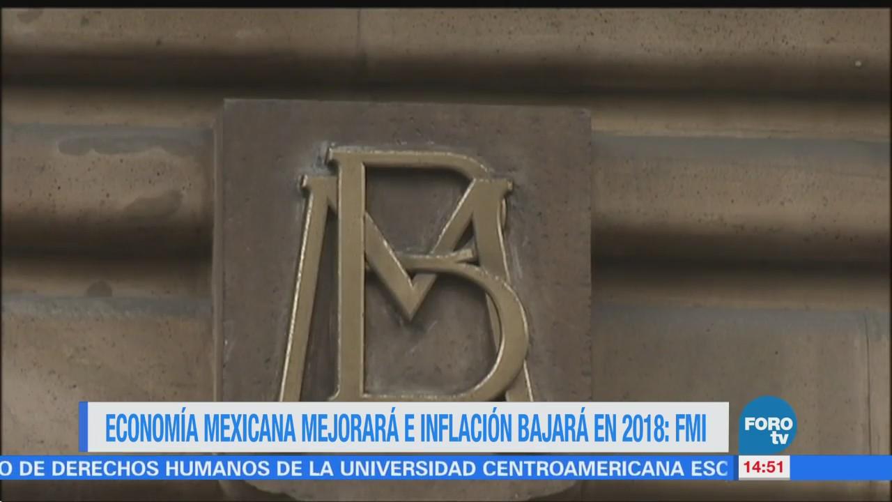 FMI prevé descenso de la inflación en México