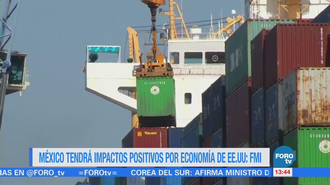 FMI prevé mejor panorama económico en México