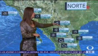 Frente Frío 20 México Persisten Bajas Temperaturas