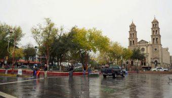 Frente frío 25 desata temperaturas bajo cero y vientos intenso en Chihuahua